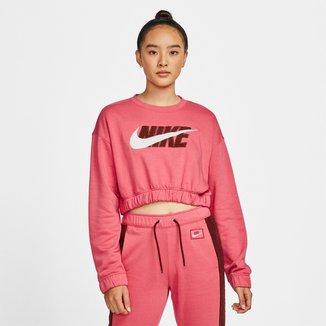 Moletom Nike Icon Clash Crew Feminino