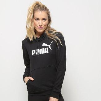 Moletom Puma Essentials Logo Hoody Feminina