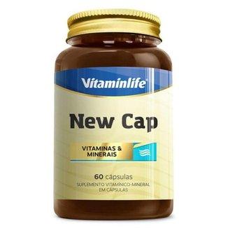 New Cap Hair 60 Cáps - Vitaminlife