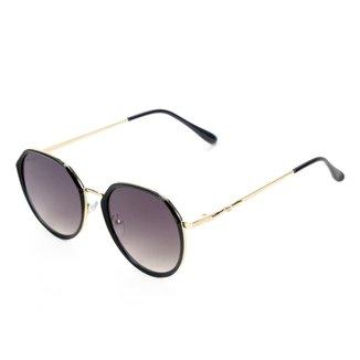 Óculos De Sol Khelf Redondo Metal MG1019
