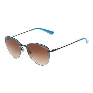 Óculos De Sol Vogue Metal Com Lentes De Plástico 0VO4156S352/1355 Feminino