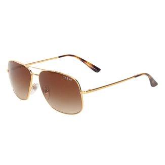 Óculos De Sol Vogue Metal Com Lentes De Plástico 0VO4161SL280/1358 Feminino