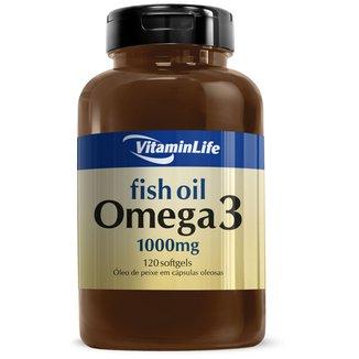 Ômega 3 1000 mg 120 caps - Vitaminlife