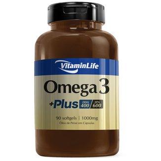 Ômega 3 Plus 90 Cáps - Vitaminlife