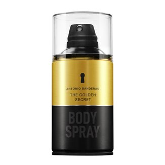 Perfume Antonio Banderas The Golden Secret Masculino Body Spray 250ml