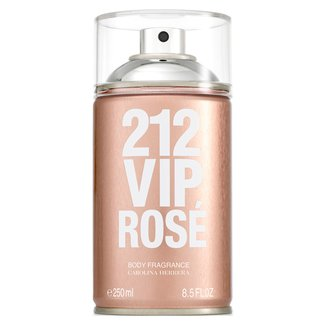 Perfume Carolina Herrera 212 Vip Rosé Body Spray Feminino 250ml