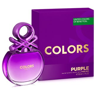 Perfume Feminino Colors Purple Benetton Eau de Toilette 50ml