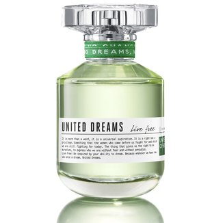 Perfume Feminino United Dreams Live Free Benetton Eau de Toilette 80ml