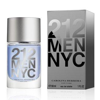 Perfume Masculino 212 Men Carolina Herrera Eau de Toilette 30ml