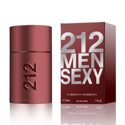 Perfume Masculino 212 Sexy Men Carolina Herrera Eau de Toilette 30ml