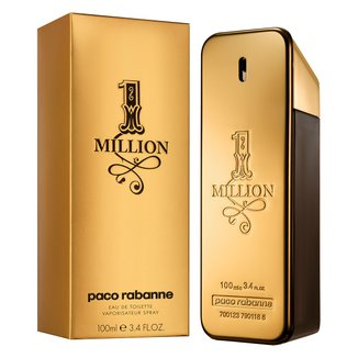 Perfume Masculino One Million Paco Rabanne Eau de Toilette 100ml