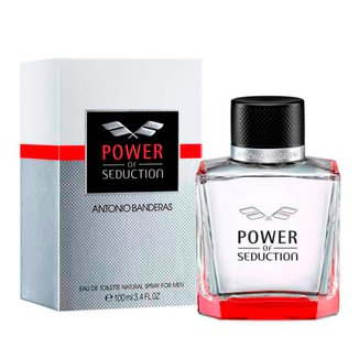 Perfume Masculino Power Of Seduction Antonio Banderas Eau de Toilette 100ml