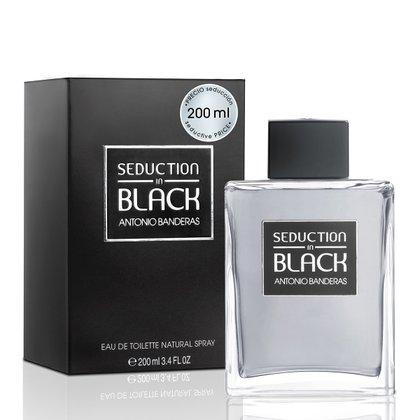 Perfume Masculino Seduction in Black Men Antonio Banderas Eau de Toilette 200ml