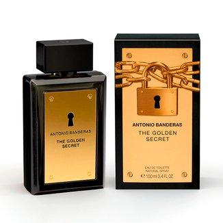 Perfume Masculino The Golden Secret Antonio Banderas Eau de Toilette 100ml