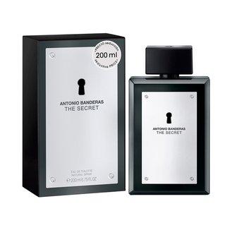 Perfume Masculino The Secret Antonio Banderas Eau de Toilette 200ml