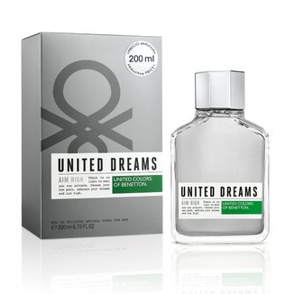 Perfume Masculino United Dreams Aim High Benetton Eau de Toilette 200ml