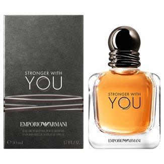 Perfume Stronger with You Masculino Giorgio Armani EDT 50ml