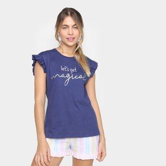 Pijama Evanilda Daisydays Rainbow Feminino