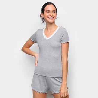 Pijama Hering Básico Feminino