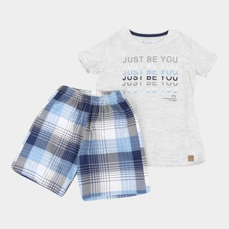 Pijama Infantil Cor Com Amor Be You Masculino