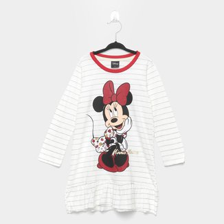 Pijama Infantil Evanilda Camisola Disney Minnie