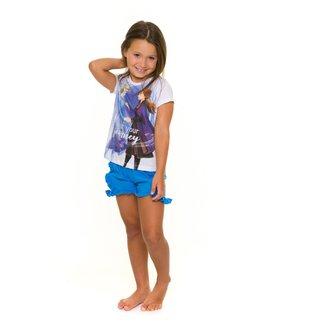 Pijama Infantil Evanilda Disney Frozen Feminino