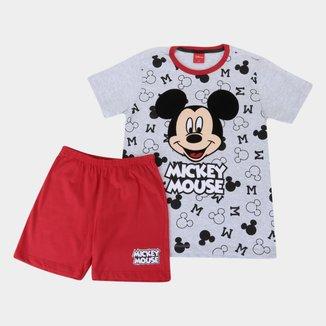 Pijama Infantil Evanilda Disney Mickey Masculino