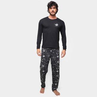 Pijama Longo Malwee Espaço Masculino