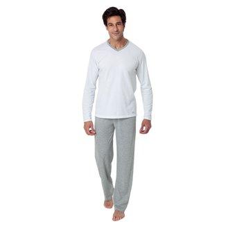 Pijama Longo Mash Básico Masculino