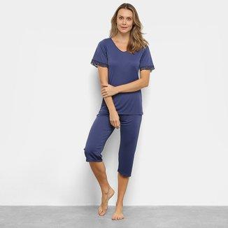 Pijama Lupo Capri Feminino