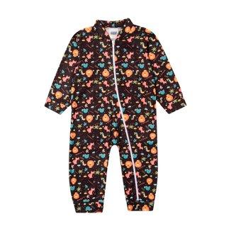 Pijama Macacão Bebê Duzizo Soft Estampado Masculino