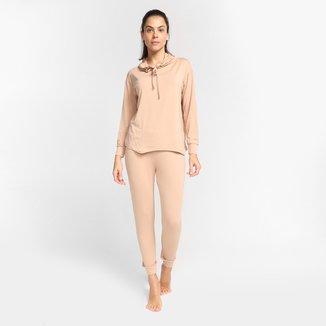 Pijama Volare Longo Com Laço Feminino