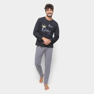 Pijama Volare Longo He King Masculino