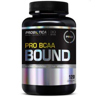 Pro BCAA Bound 120 Cáps - Probiótica