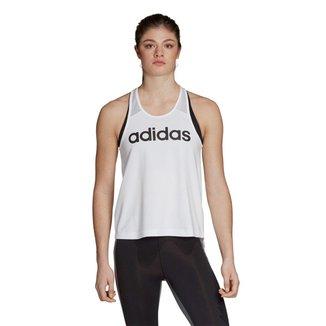 Regata Adidas D2M Logo Tank Feminina