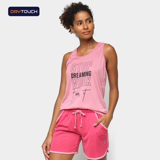 Regata Gonew Dry Touch Stop Dreaming Work For It Feminina
