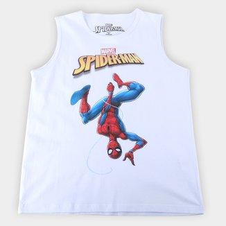 Regata Infantil Marvel Spider Man Upside Masculina