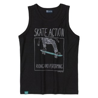 Regata Infantil Quimby Skate Action Masculina