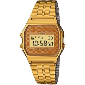 Relógio Digital Casio Vintage A159WGEA Feminino