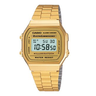 Relógio Digital Casio Vintage A168WG-9W