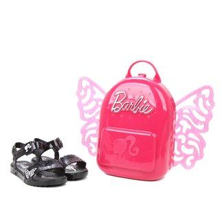 Sandália Infantil Grendene Kids Barbie Butterfly Feminina