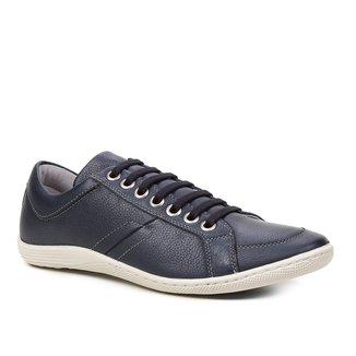 Sapatênis Couro Shoestock Ilhós Masculino
