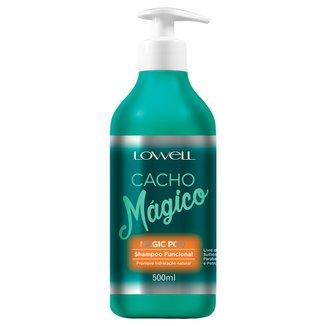 Shampoo Funcional Cacho Mágico Lowell 500ml