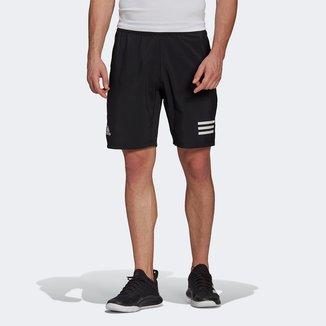 Short Adidas Club 3 Listras Masculino
