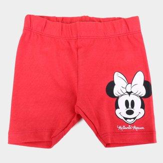 Short Infantil Disney Minnie Feminino
