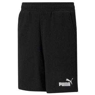 Short Infantil Puma Essentials Masculino
