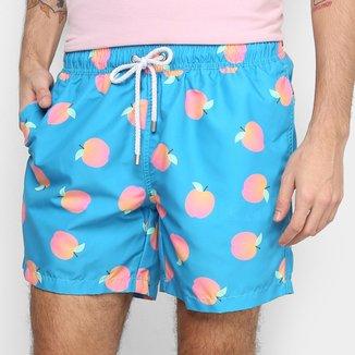 Shorts Barche Pêssego Masculino