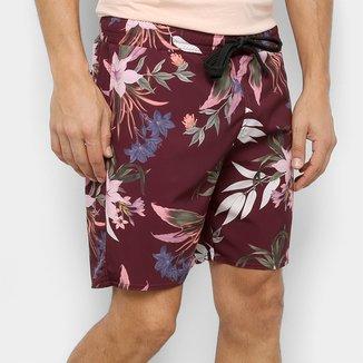 Shorts Gajang Floral Masculino