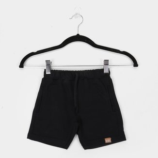 Shorts Infantil Moletom Quimby Básico Masculino