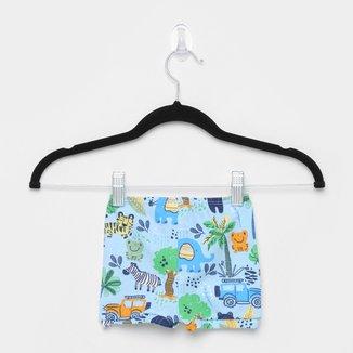 Shorts Infantil Up Baby Estampado Masculino